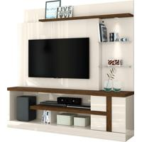 Home Theater Alan Off White/Savana Madetec