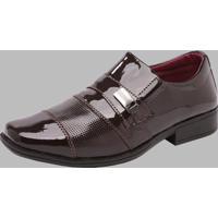 Sapato Social Dexshoes Marrom
