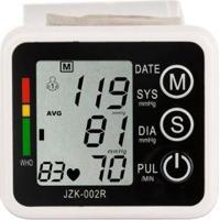Medidor Eletrônico De Pulso Pressão Arterial Automático Display - Unissex-Branco