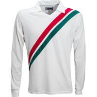 Camisa Liga Retrô Tricolor Rj 1908 Longa - Masculino