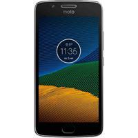 "Smartphone Motorola Moto G5 Xt1672 - Platinum - 32Gb - Dual-Chip - 16Mp - 4G - Tela 5.2"" - Android 7.0"