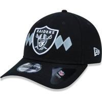 ... Boné 920 Oakland Raiders Nfl Aba Curva New Era - Masculino-Preto a8c395e5f97