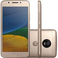 """Smartphone Motorola Moto G Xt1672 - 5° Geração - Dual-Chip - 32Gb - 13Mp - Tela 5"""" - Android 7.0"""