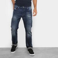 Calça Jeans Reta Diesel Masculina - Masculino-Jeans