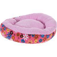 Cama Pet Para Cachorros E Gatos Redonda Rosa 60Cm - Meu Pet