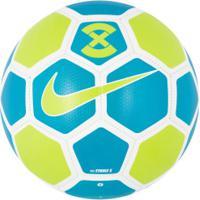 Bola De Futebol De Campo Nike Strike X 2019 - Azul/Branco