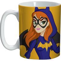 Caneca De Porcelana Amarela 135Ml Batgirl Urban Home