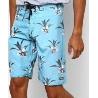 Bermuda Mood Basic Masculina - Masculino-Azul Turquesa