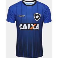 da5a025add49b ... Camisa Botafogo Treino Atleta Topper Masculina - Masculino