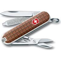 Canivete Classic Chocolate Com 7 Funã§Ãµes- Inox & Marrom Victorinox