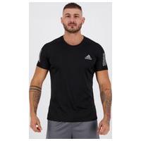 Camiseta Adidas Own The Run Preta E Cinza