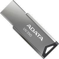 Pen Drive Adata Auv350, 64Gb, Usb 3.2, Metal - Auv350-64G-Rbk