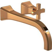 Torneira Para Banheiro Parede Wish Red Gold 1179.Gl.Wsh.Rd - Deca - Deca
