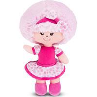 Boneca De Pano Clara Rosa Cortex