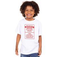 Opinião, Só Em Caso De Emergência - Camiseta Clássica Infantil