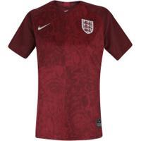 Camisa Inglaterra Ii 2019 Nike - Feminina - Vermelho