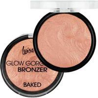 Blush Bronze Baked D Luisance Glow Gorgeous Bronzeador Perfeito - Feminino-Incolor