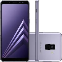 Usado Smartphone Samsung Galaxy A8+ 2018 A730F 64Gb Desbloqueado Ametista (Muito Bom)
