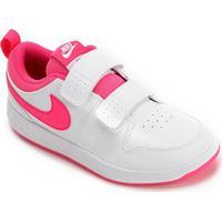 Tênis Infantil Nike Pico 5 Psv - Masculino-Branco+Pink