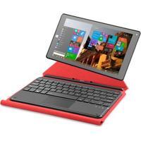 """Tablet Multilaser M8W Hibrido Vermelho Windows 10 Tela 8.9"""" Intel 1Gb Ram Mem Quadcore 16Gb Dual - Nb197"""