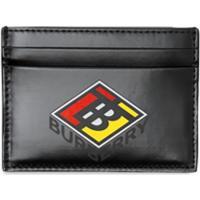 Burberry Porta-Cartões Com Logo - Preto