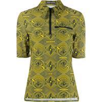 Kwaidan Editions Blusa Com Estampa 'Eye' - Amarelo