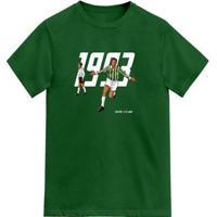 Camiseta Novomanto 1993 O Retorno De Um Gigante Masculina - Masculino-Verde