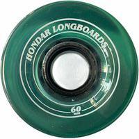Rodas Hondar Longboard 60Mm 82A Verde Translúcida