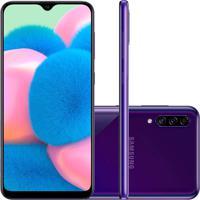 Smartphone Samsung Galaxy A30S 64Gb A307 Desbloqueado - Violeta Violeta