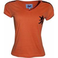 Camisa Liga Retrô Holanda 1974 - Feminino
