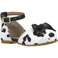 Sapato Bebê De Oncinha Branco E Preto - 18