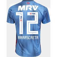 Netshoes  Camisa Flamengo Iii 18 19 N°14 De Arrascaeta - Torcedor Adidas  Masculina - 23c3d61222fde