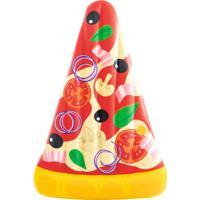 Boia Inflável Mor Pizza 1970 - Vermelho/Amarelo