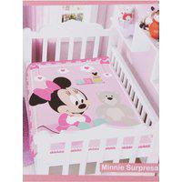 Cobertor Disney Jolitex Para Bebê - Rosa