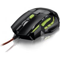 Mouse Óptico Xgamer Fire Button Usb, 7 Botões, 2400 Dpi Multilaser