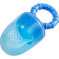 Alimentador Silicone Azul