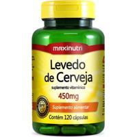 Levedo De Cerveja - 120 Cápsulas - Maxinutri - Unissex