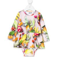Molo Kids Body Com Estampa De Frutas - Neutro
