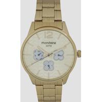 Relógio Analógico Mondaine Feminino - 78737Lpmvda2 Dourado