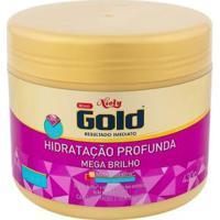 Máscara De Hidratação Profunda Niely Gold Mega Brilho 430G - Unissex-Incolor