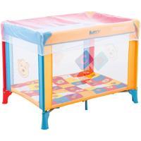 Cercado Para Crianças Até 15Kg Burigotto Happy Colorido
