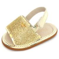 Sandália Da Griff-Dourada