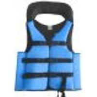Colete Salva Vidas Auxiliar Flutuação Pesca Advance Azul 90Kg