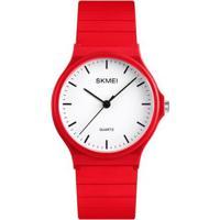 Relógio Infantil Skmei Analógico Masculino - Masculino-Vermelho
