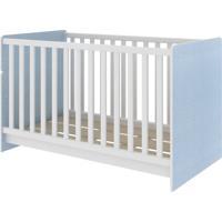 Berço Multifuncional Branco/Azul 62Be0220 Rodial Móveis