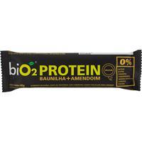 Barra De Proteína Bio2 Protein Baunilha E Amendoim Com 40G