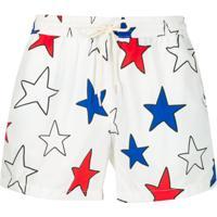 Nos Beachwear Short De Natação Star - Branco