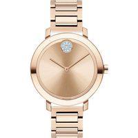 Relógio Movado Feminino Aço Rosé - 3600650
