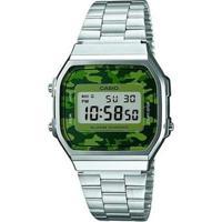 Relógio Unisex Casio Digital - Unissex-Prata