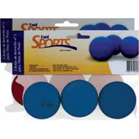 Kit 3 Bolas Frescobol De Borracha Nº 3 - Bel Sports - Unissex